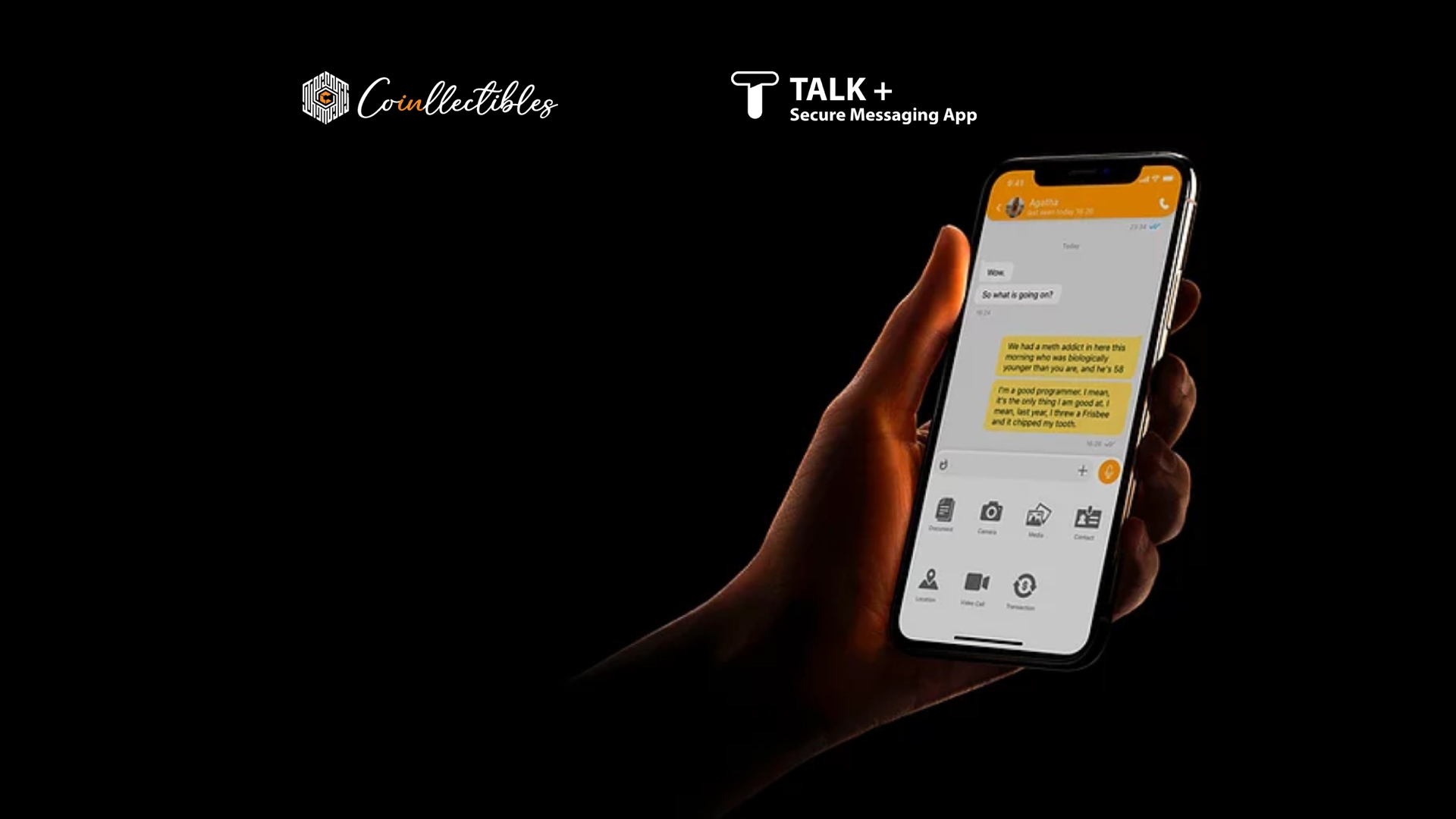 TALK+ is now a Coinllectibles Group company
